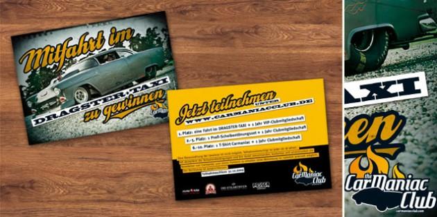 The CarManiac – Gewinnspiel für Motorshow Essen 2009