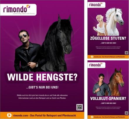 Anzeigenkampagne für die Community rimondo.com