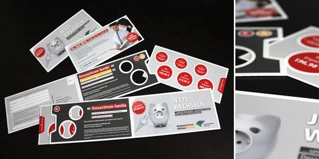 360-Grad-Kampagne & Key Visual für DessauStrom