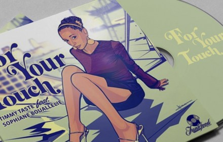 CD-Cover-Design für Funkfood Records