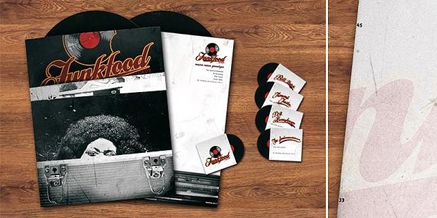 Visitenkarten & Briefbögen in Vinyl – Corporate Design für Berliner Musiklabel