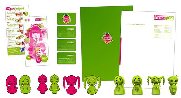 Corporate Design für die immergrün Franchise GmbH