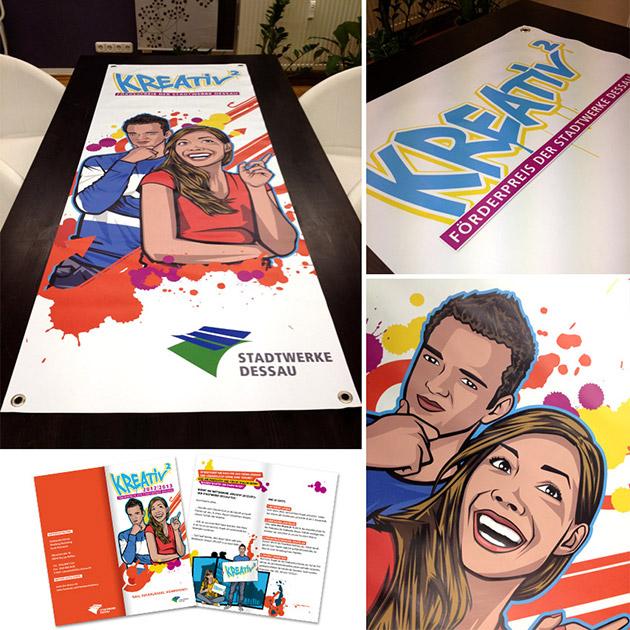 Illustrationen und mehr für den Kreativ-Wettbewerb
