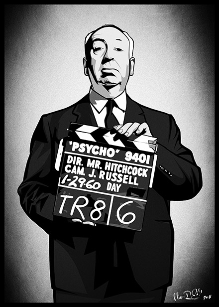 Psycho-Remake für posterdeluxe.de