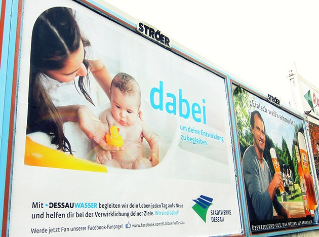 Out-of-Home-Kampagne der Stadtwerke Dessau