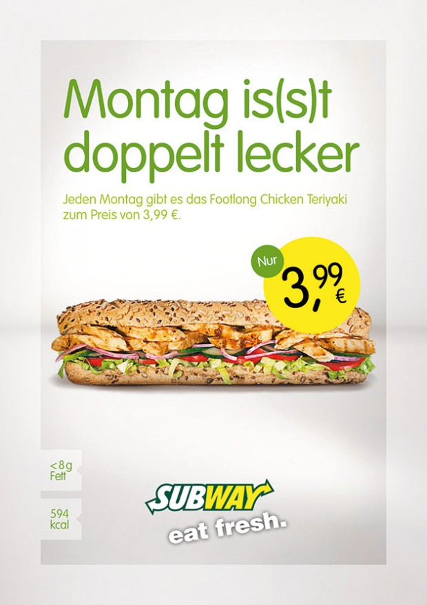 Montag is(s)t jetzt doppelt lecker!