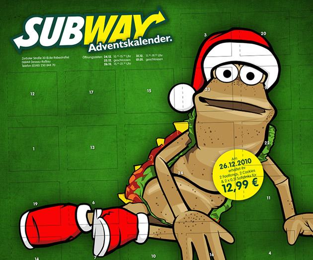 XMAS bei Subway