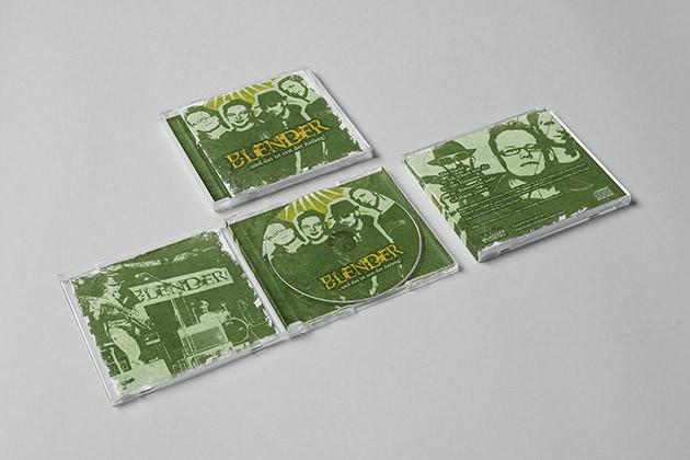 "CD-Design & Booklet für die Rockband ""Blender"""