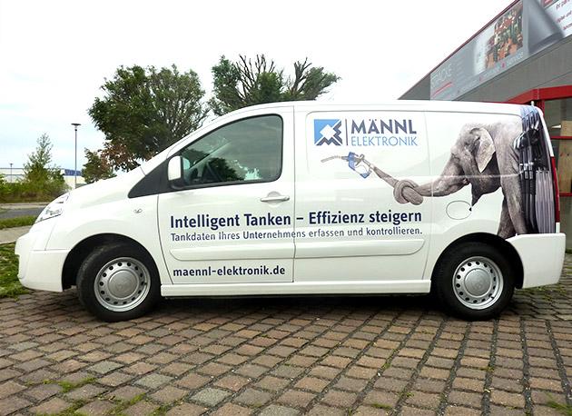 Tierische Fahrzeugbeschriftung