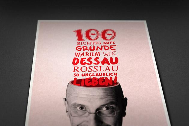 100 richtig gute Gründe für Dessau-Roßlau
