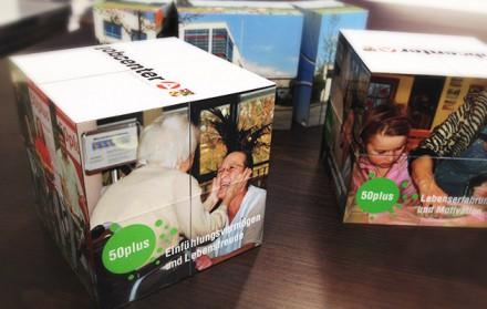 Einfach magisch – Magic Cubes für das Jobcenter Dessau